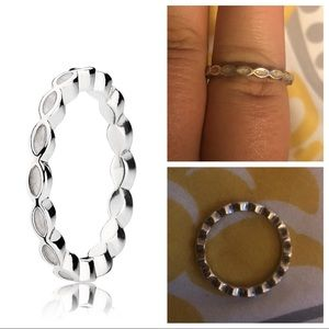 Pandora Stacking Ring, size 9
